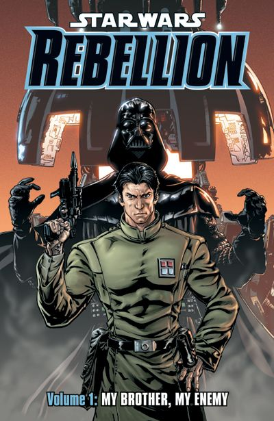 Star Wars: Rebellion Volume 1 TPB - My Brother, My Enemy - nick & dent