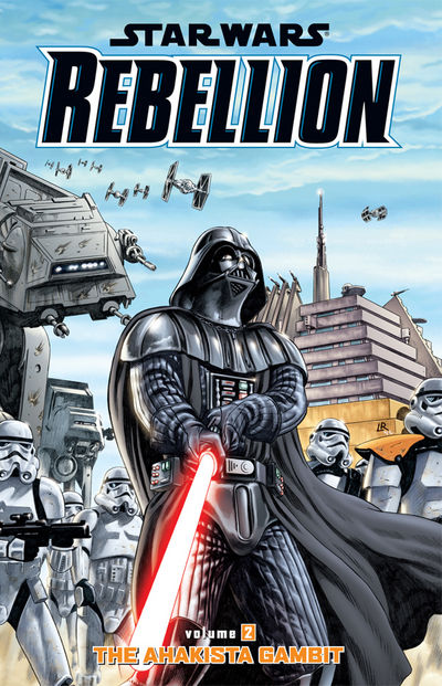 Star Wars: Rebellion Volume 2 TPB-The Ahakista Gambit