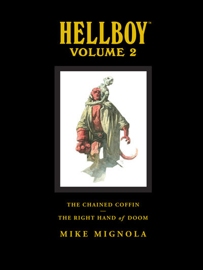 Hellboy Library Edition Volume 2: The Chained Coffin, The Right Hand of Doom, and Others HC (Current Printing)