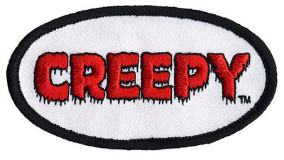 Creepy Logo Embroidered Patch