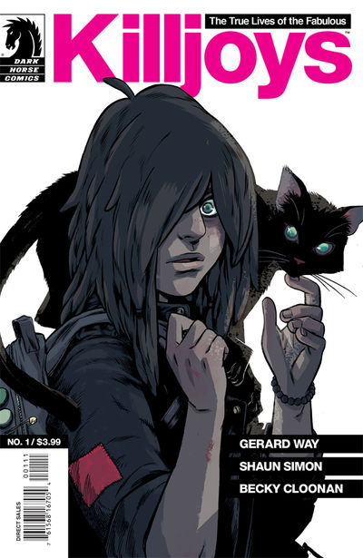 True Lives of the Fabulous Killjoys #1 (Becky Cloonan cover)