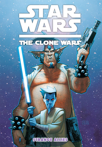Star Wars: The Clone Wars - Strange Allies Digest