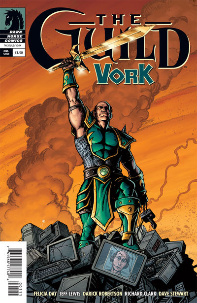 Guild: Vork (one-shot) (Darick Robertson cover)