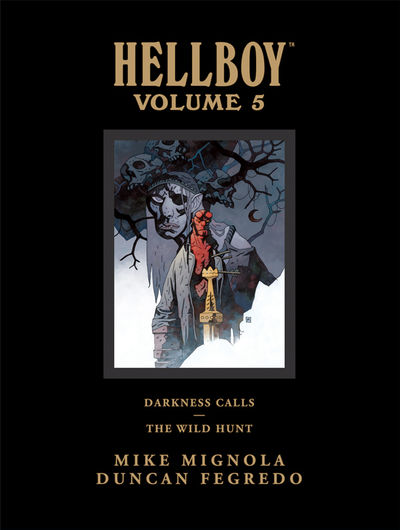 Hellboy Library Edition Volume 5: Darkness Calls and the Wild Hunt HC