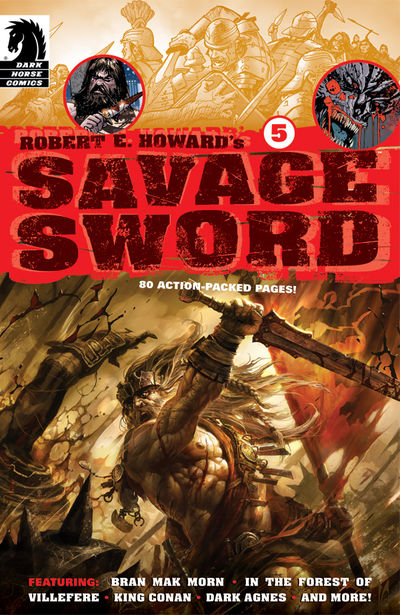 Robert E. Howard's Savage Sword #5