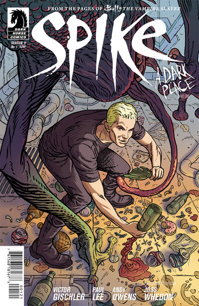 Buffy the Vampire Slayer: Spike #1 (Steve Morris variant cover)