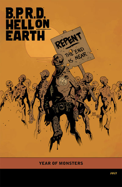 B.P.R.D. Hell on Earth: The Devil's Engine #3  (Mike Mignola variant cover)