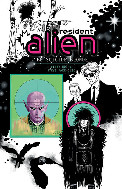 Resident Alien Volume 2 TPB: The Suicide Blonde