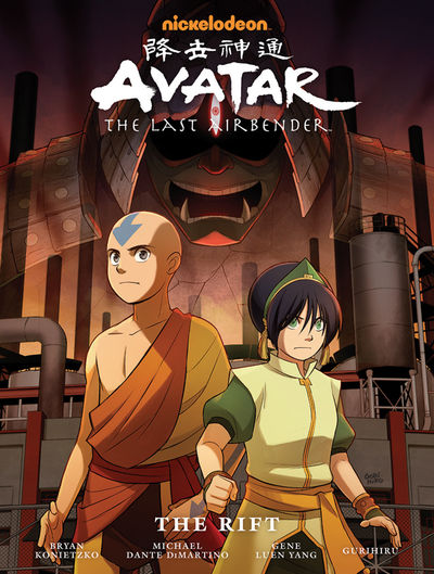 Avatar: The Last Airbender - The Rift Library Edition HC (Current Printing)