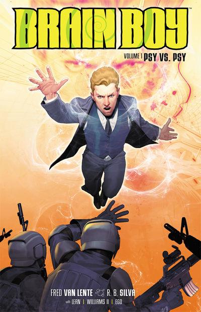 Brain Boy Volume 1: Psy vs. Psy TPB