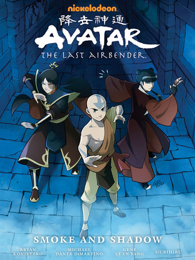 Avatar: The Last Airbender - Smoke and Shadow Library Edition HC