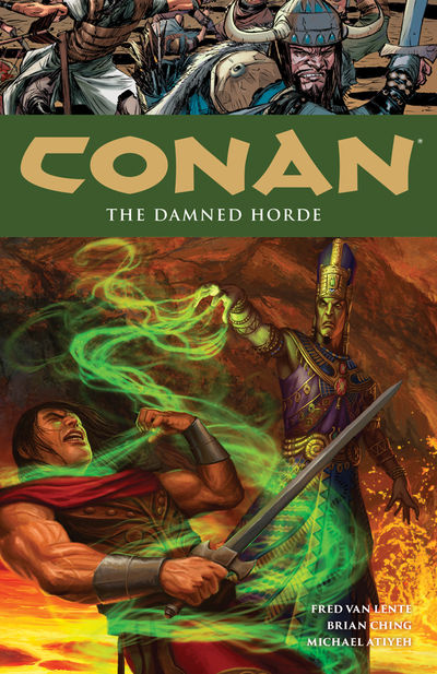Conan Volume 18: The Damned Horde TPB