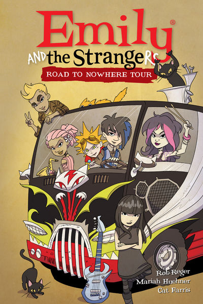 Emily and the Strangers Volume 3 HC: Road to Nowhere Tour