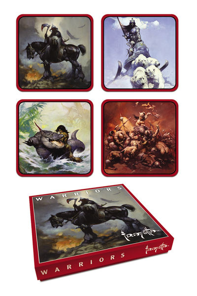 Frank Frazetta Warrior Coaster Set