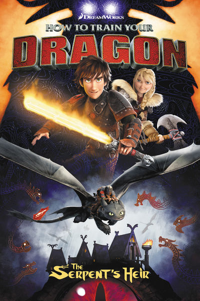DreamWorks How to Train Your Dragon: The Serpent's Heir TPB