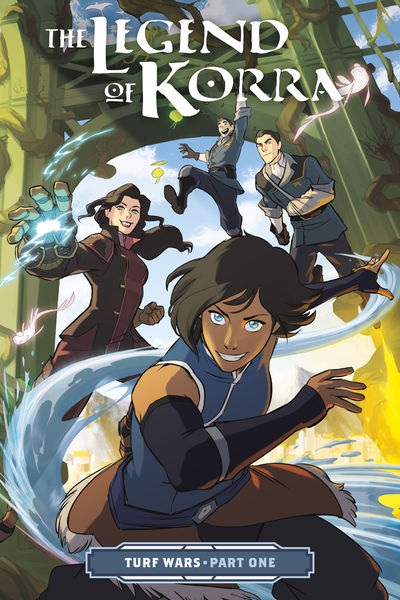 Legend of Korra: Turf Wars Part One TPB