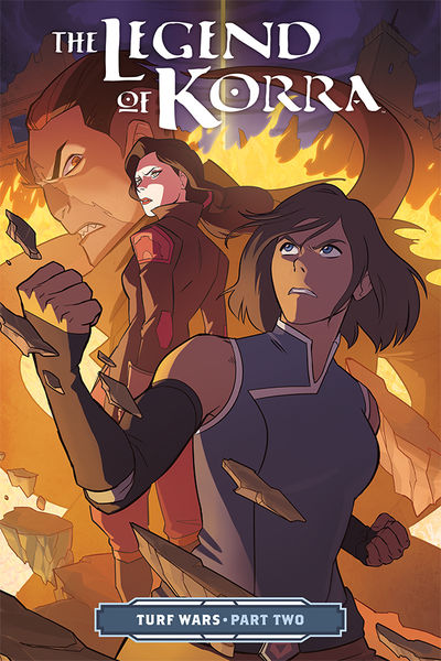 Legend of Korra: Turf Wars Part Two TPB