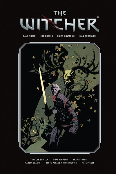 The Witcher Library Edition Volume 1 HC