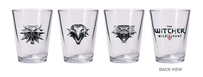Witcher 3: The Wild Hunt - Shot Glass Set