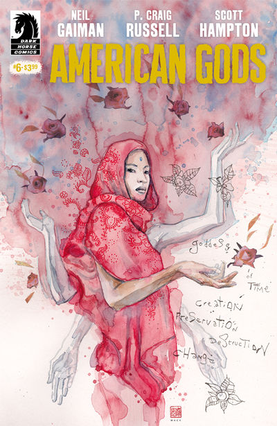 American Gods: Shadows #6 (David Mack Variant)