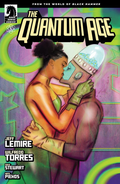 Quantum Age: From the World of Black Hammer #5 (Tula Lotay Variant Cover)