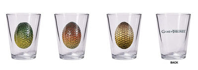 Game of Thrones Shot Glass Set: Dragon Eggs