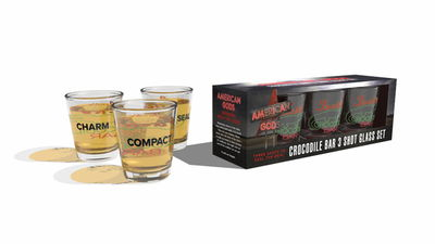 American Gods: Jack's Crocodile Bar Shot Glass Set
