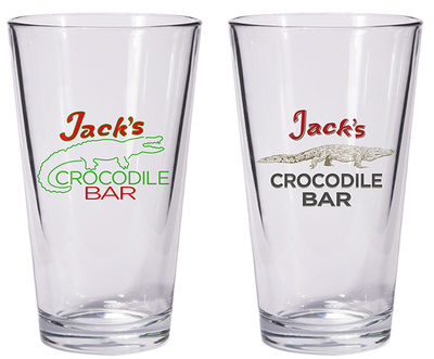 American Gods: Jack's Crocodile Bar Pint Glass Set