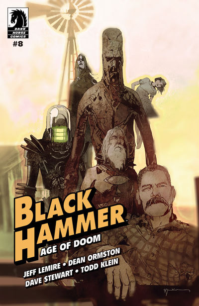 Black Hammer: Age of Doom #8 (Bill Sienkiewicz Variant Cover)