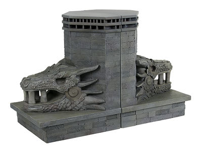 Game of Thrones: Dragonstone Gate Dragon Bookends