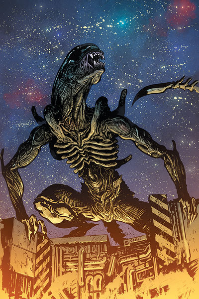 William Gibson's Alien 3 #3 (Daniel Warren Johnson Variant Cover)