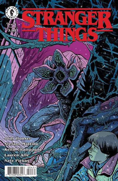 Stranger Things #4 (Ethan Young Variant Cover)