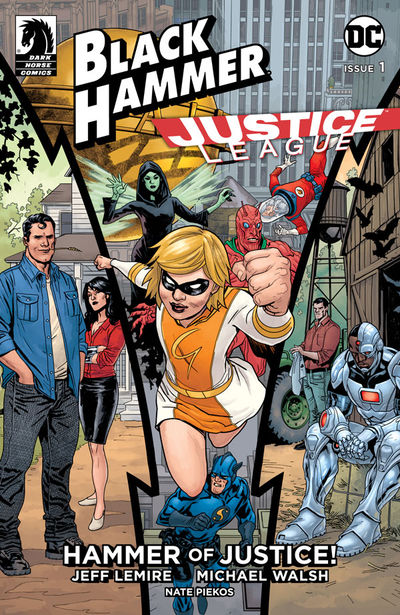 Black Hammer/Justice League: Hammer of Justice! #1 (Yanick Paquette & Dave Stewart Variant Cover)