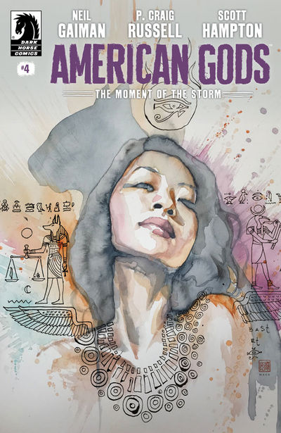 American Gods: The Moment of the Storm #4 (David Mack Variant Cover)
