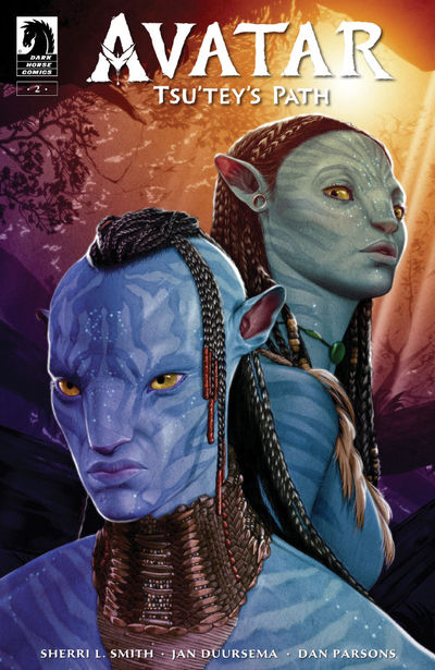 Avatar: Tsu'tey's Path #2 (Shea Standefer Variant Cover)