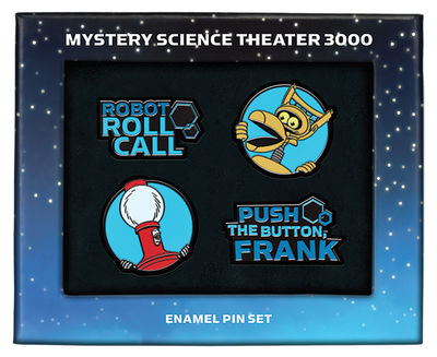 MST3K Enamel Pin Set