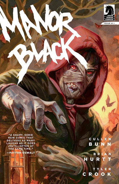 Manor Black #1 (Dan Brereton Variant Cover)