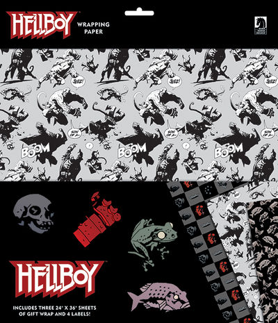 Hellboy Wrapping Paper