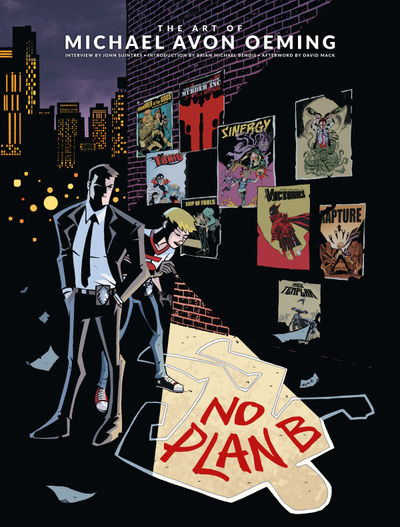 No Plan B: The Art of Michael Avon Oeming HC
