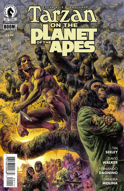 Tarzan on the Planet of the Apes comics at TFAW.com