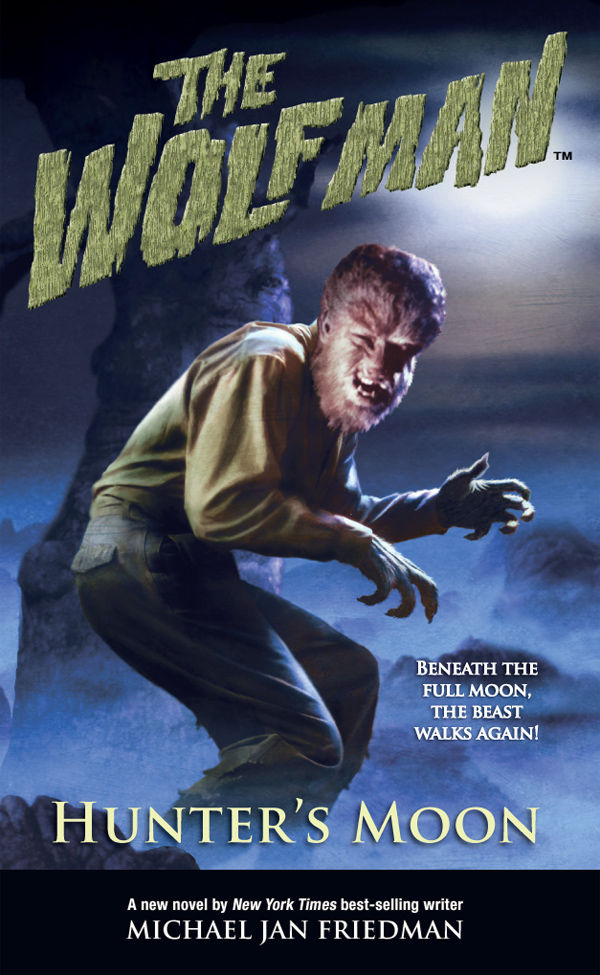 The Wolf Man Hunter S Moon Novel Profile Dark Horse Comics