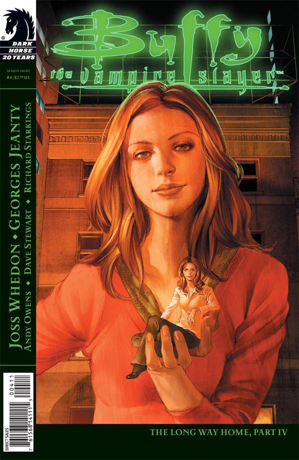 Buffy The Vampire Slayer Season 8 4 Profile Dark