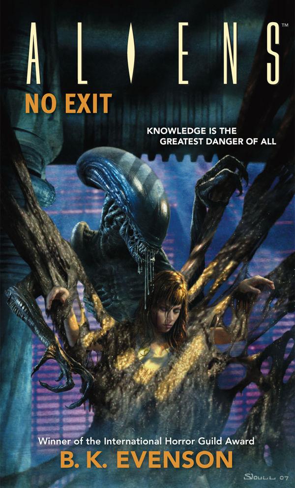 Aliens No Exit Novel Profile Dark Horse Comics