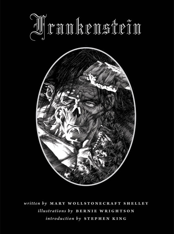 Bernie Wrightsons Frankenstein HC Profile Dark Horse Comics