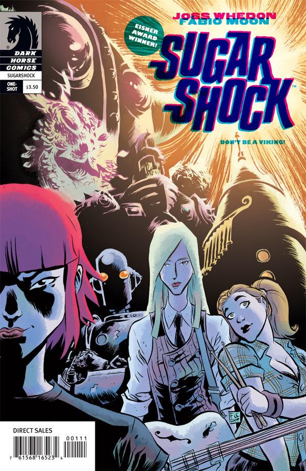 Sugarshock One Shot Profile Dark Horse Comics