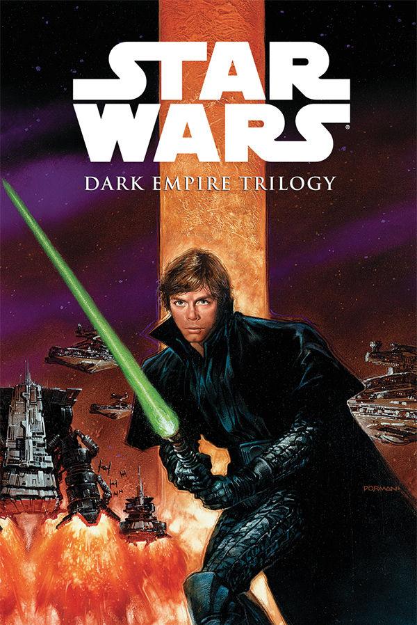 Star Wars Book Cover Art : Star wars dark empire trilogy hc profile horse