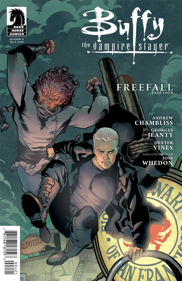 Buffy The Vampire Slayer Season 9 Freefall #9 Variant Georges Jeanty Cover