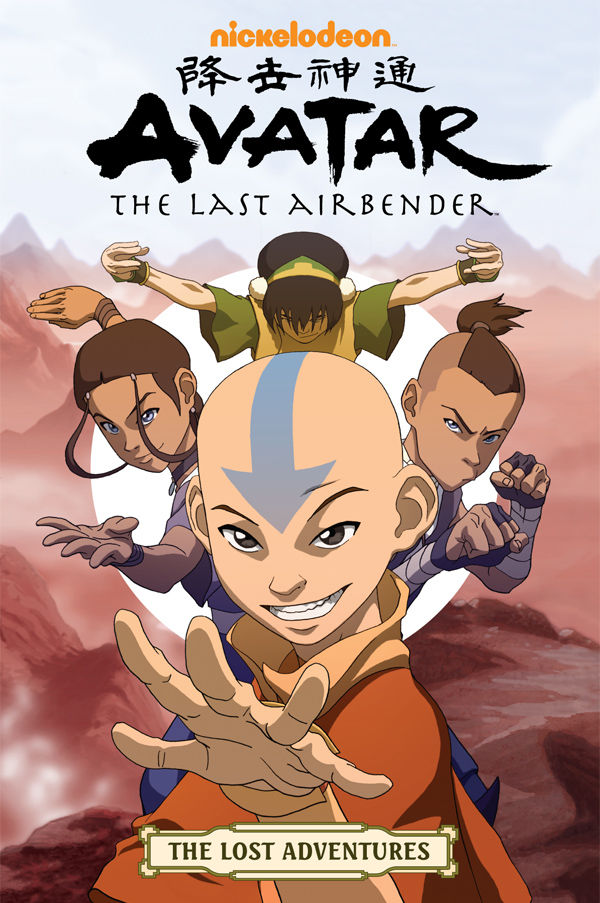 Avatar: The Last Airbender-The Lost Adventures TPB