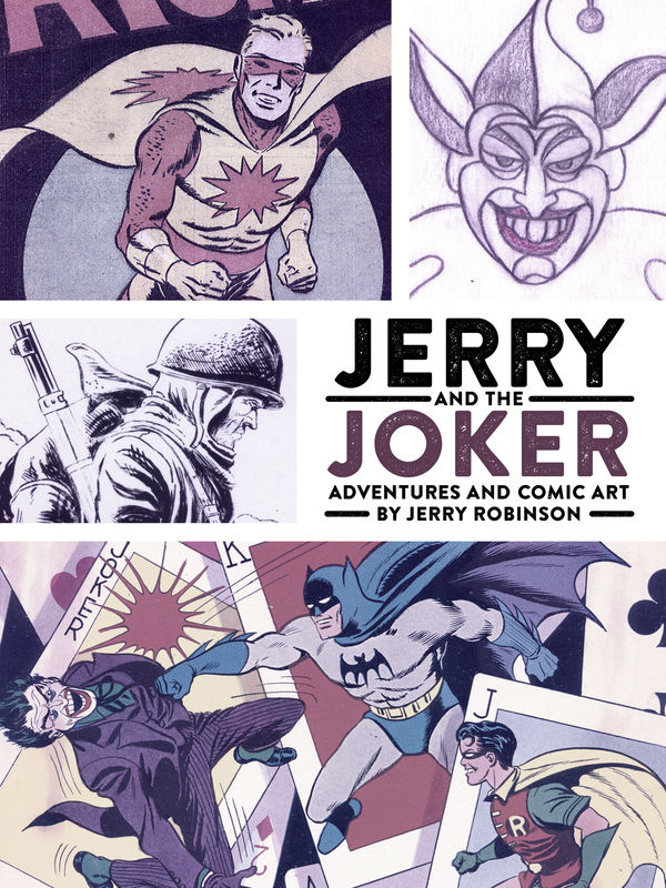 Jerry And The Joker Adventures And Comic Art Hc Profile