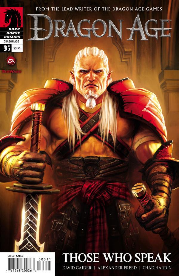 Dragon Age Those Who Speak 1 2 3 Dark Horse 2012 Complete Set Run Lot 1-3 VF//NM